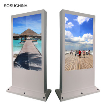 outdoor advertising digital display screens totem kiosk