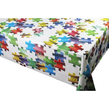 Pvc Printed fitted table covers Table Linens Purchase