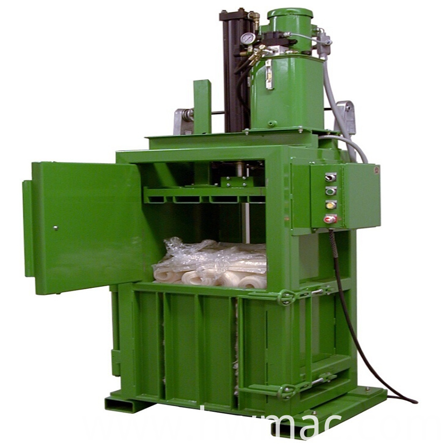 plastic bottle baler