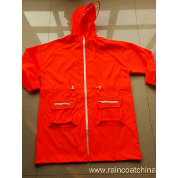 PU Rain Jackets For Men