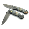 Spring Lloaded Tactical Folding Pocket Knife