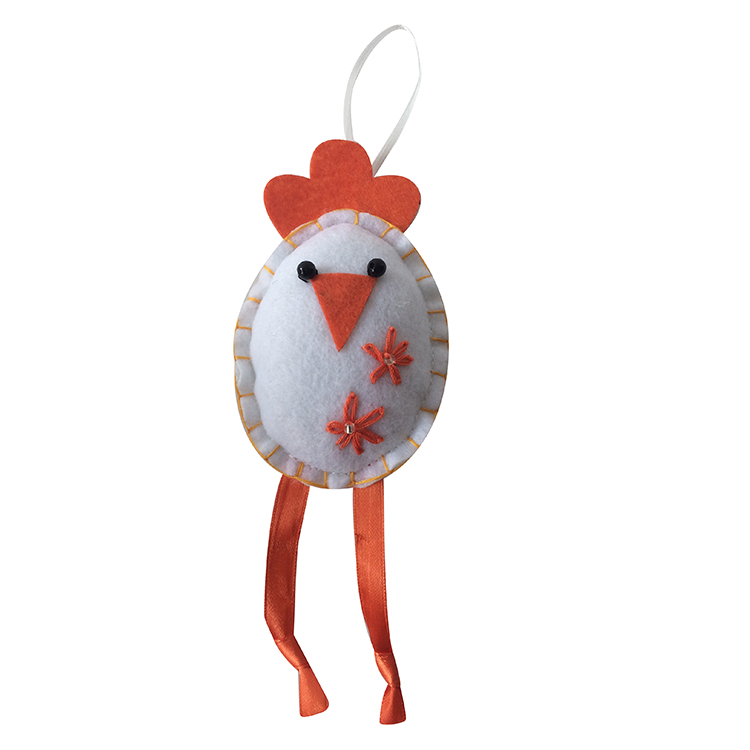 Easter 3d Chick Pattern Ornaments