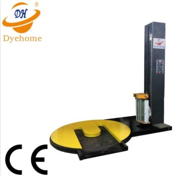 Forklift type pallet stretch film wrapping machine