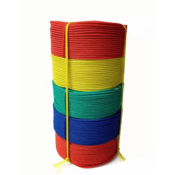 3-Strand Single Color PE Polyethylene Rope