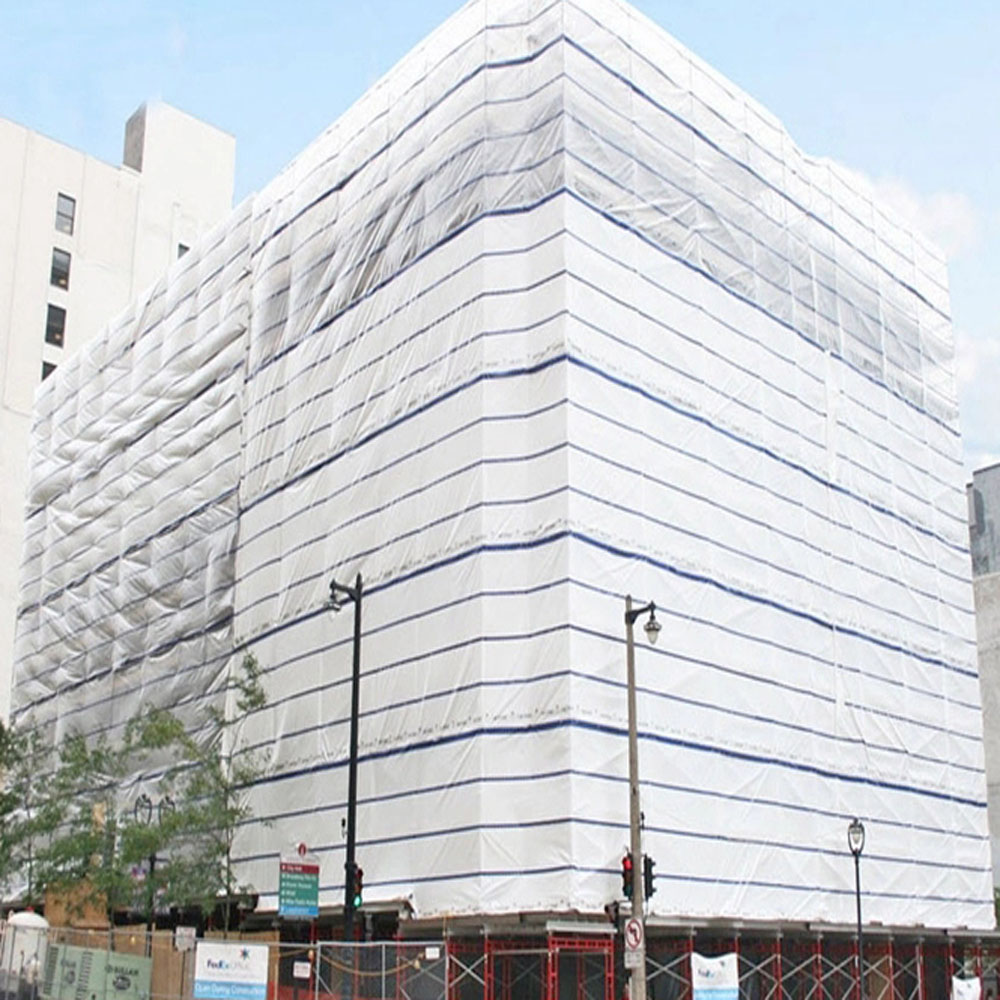 Transparent Tarpaulin Building Scaffolding Protection Cover