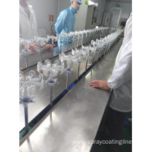 100% Original Factory for Plastic Product Painting Line Spray Painting Production Line supply to North Korea Importers