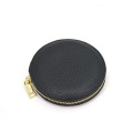 Factory Price Handmade Pu Leather Zipper Coin Purse