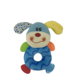 Plush Dog With Rattle