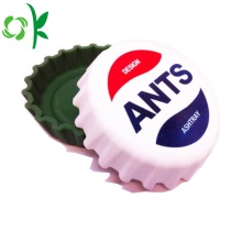 Beer Cap Shape Fashion Silicone Cutomized Smoke Ashtray