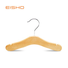 EISHO Wooden Coat Hanger For Children