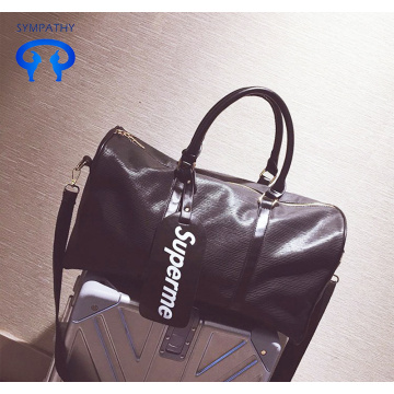 Portable travelling bag pu travelling bag