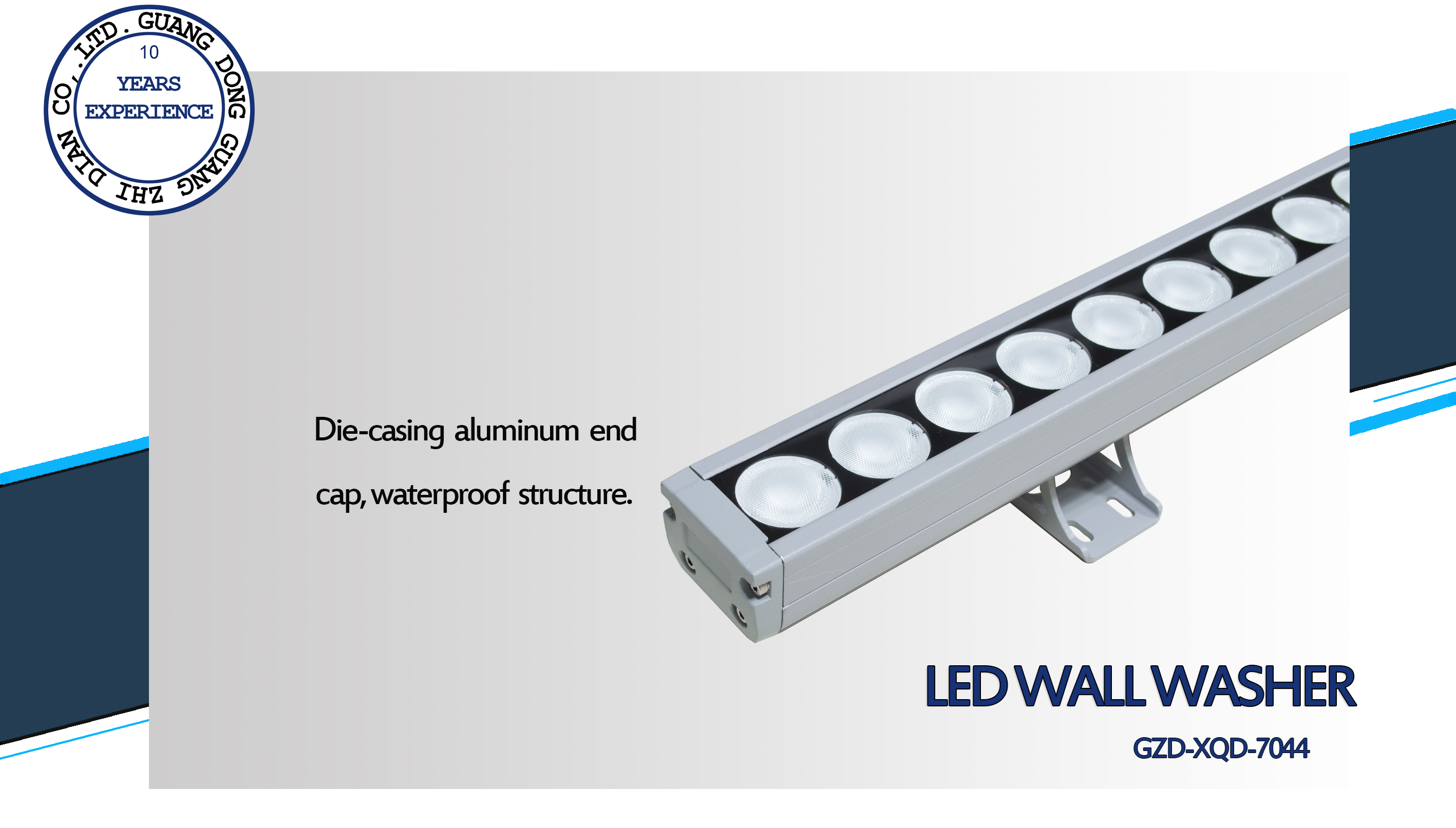 2 led wall washer-