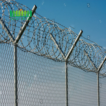 Factory Direct Sale PVC Coated Welded Airport Fence