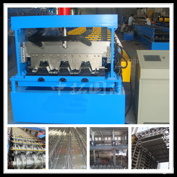 Metal Galvanized Panel Floor Deck Roll Forming Machine
