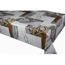 Elegant Tablecloth with Non woven backing for Wedding