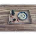 Antique Style Wooden Plate