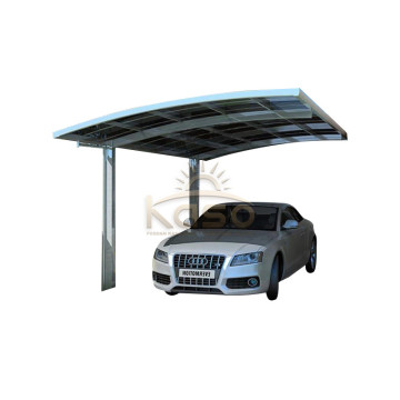FramePolycarbonate Roof Two Car Canopy Metal Garage Carport