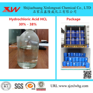 Hydrochloric Acid 33 Used for Food And Industrial