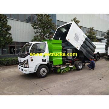 5m3 Vacuum Airport Runway Sweeper Vehicles