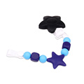 Star Silicone Pacifier Clip