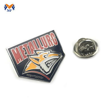 Wholesale metal hard enamel badge lapel pin