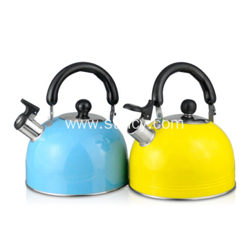 Stainless Steel Colorful Teapot Whistle Kettle