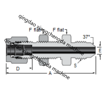 Hard Tube Ferrule AN Bulkhead Fittings
