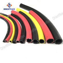 Red smooth air line flexible hose