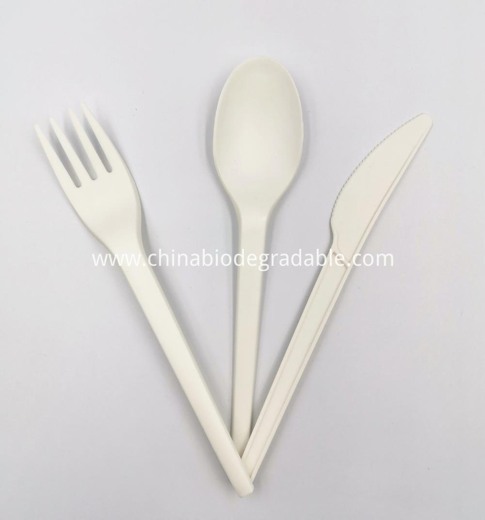 Biodegradable and Compostable Flatwares Sets Cutlery
