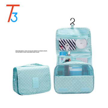 Aliexpress Nylon Hanging toiletry Travel Bag Wash Makeup Cosmetic Bag Organizer