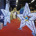 3d Motif Light For Commercial star lights marbella