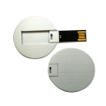 Metal Round Credit Card usb flash drive