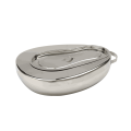 Medical Stainless Steel Male Bedpans Product