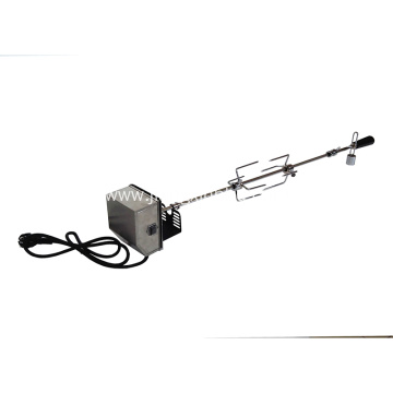 Electric Stainless Steel Deluxe BBQ Rotisserie Spit