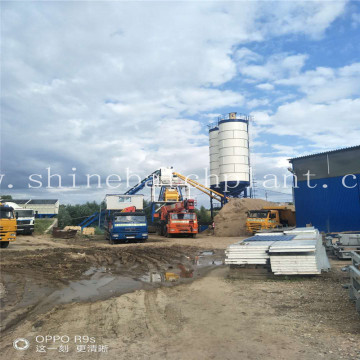 Portable Concrete Batching Plants