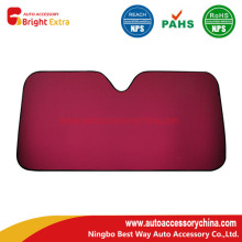 Red Car Front Windshield Sun Shade