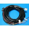 Car light wiring harness automotively