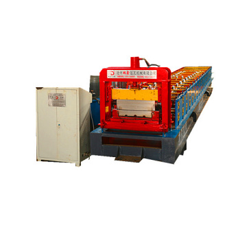 High Strength Standing Seam Metal Roof Panel Machine