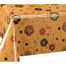 Cheap for Double Face Tablecloth Double Face Emboss printed Gold Silver Tablecloth Next export to Armenia Manufacturers