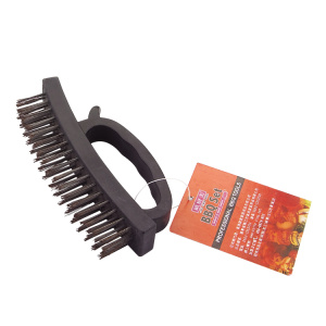 BBQ plastic cleaning brush