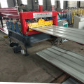 Hydraulic arch roofing sheet curving machine