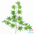 Green Maple Artificial Leaves