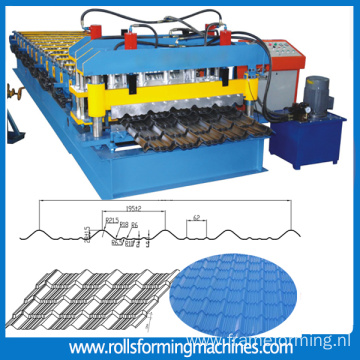 roofing tile forming machine glazed tile forming machine roll forming machine