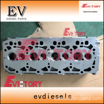 4TNV82A cylinder head block crankshaft connecting rod
