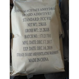 Cheapest Factory for Food Antiseptic Sodium acetate anhydrous Food additive export to St. Pierre and Miquelon Suppliers