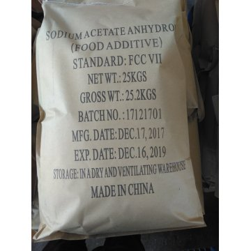 Sodium acetate trihydrate food ingredient