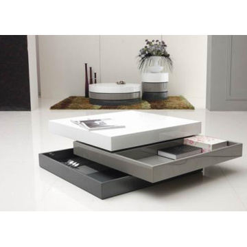 Home furniture square coffee table