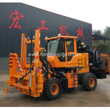 Bottom price for Pile Driver With Screw Air-Compressor Highway Pile Driving Machine for Extracting export to St. Pierre and Miquelon Exporter