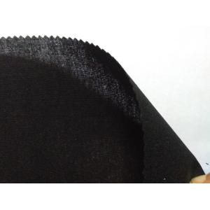 10 Years for China Waist Interlining,Black Waist Interlining,Non Fusible Waist Interlining,TC Waist Interlining Manufacturer non fusible interlining black color width 112cm supply to Brunei Darussalam Supplier