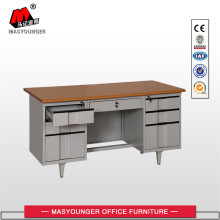 Classic Desk With Two Cabinet